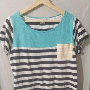 Boden Short Sleeve Breton T Shirt UK 16 US 12